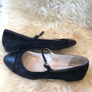 Cole Hann Phoenix Mary Jane low heel flats Sz 7.5